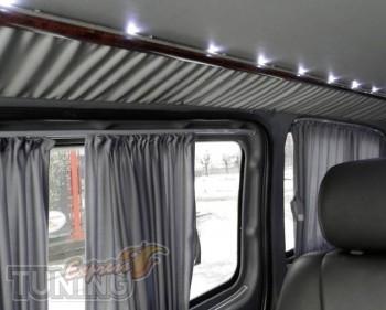 Шторки для авто Мерседес Вито 639 (автомобильные шторки в салон