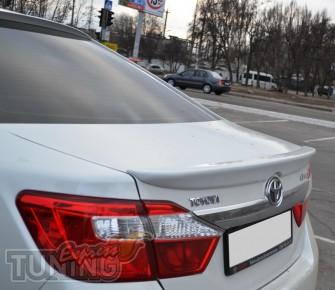 Тюнинг спойлер Toyota Camry 50 (фирменный спойлер Тойота Камри 5