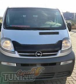 заказать Мухобойка Opel Vivaro (дефлектор капота Опель Виваро)