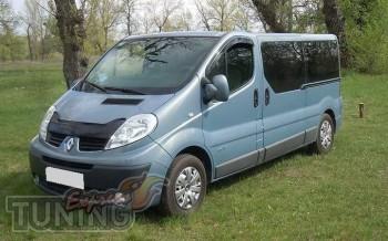 купить Мухобойка Renault Trafic (дефлектор капота Рено Трафик)