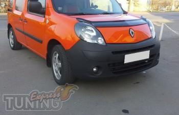Мухобойка Рено Кангу 2 (дефлектор капота Renault Kangoo 2)