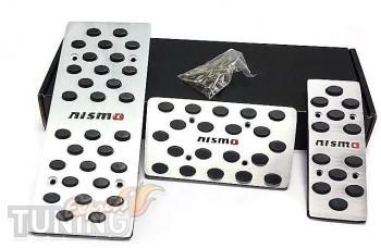 Накладки на педали Nissan Qashqai 1 автомат (накладки педалей дл