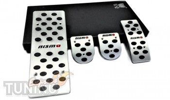 Накладки на педали Nissan Almera N15 МКПП (накладки педалей Нисс