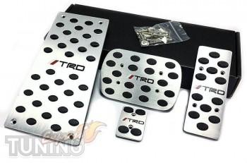 Накладки на педали Тойота Тундра 3 автомат (накладки педалей Toy