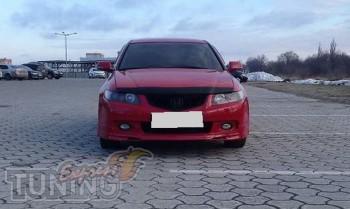 заказать Мухобойка Хонда Аккорд 7 (дефлектор капота Honda Accord