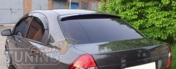 Козырек на заднее стекло Chevrolet Aveo (ветровик заднего стекла