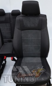 Чехлы мв бразерс БМВ Х1 Е84 (авточехлы на сидения BMW X1 E84)