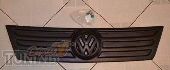 Установка зимней накладки на решетку радиатора Фольксваген Кадди