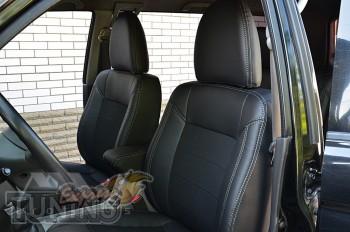 Чехлы Митсубиси Паджеро Спорт 1 (авточехлы на сиденья Mitsubishi