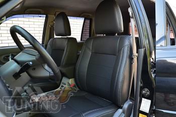 автомобильные Чехлы Митсубиси Паджеро Спорт 1 (авточехлы на сиде