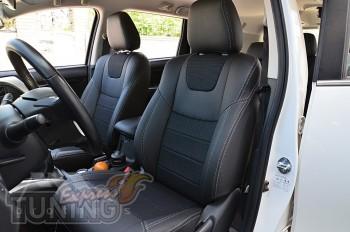 заказать Чехлы Mitsubishi Pajero Sport 3