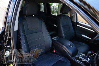 Чехлы Toyota Highlander 3 (авточехлы на сиденья Тойота Хайлендер