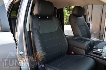 Чехлы Тойота Тундра 3 (авточехлы на сидения Toyota Tundra 3)