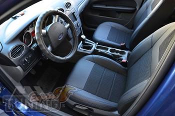 заказать Чехлы Ford Focus 2 (авточехлы на сидения Форд Фокус 2)