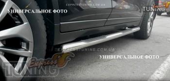 Пороги трубами Шевроле Нива (силовые пороги трубы Chevrolet Niva