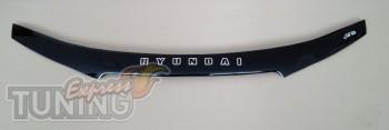 Дефлектор на капот Хендай Соната 5 НФ (мухобойка для Hyundai Son