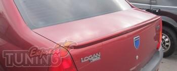 Накладка на багажник Рено Логан 1 (спойлер Дачи Логан 1)