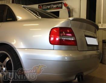 Лип спойлер на крышку багажника Ауди А4 Б5 (Audi A4 B5)