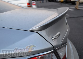 Спойлер на багажник Хендай Соната 6 (задний спойлер Sonata YF)