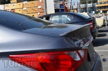 Купить аэродинамический спойлер на Хендай Сонату 6 поколения