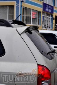 Установка спойлера Hyundai Tucson
