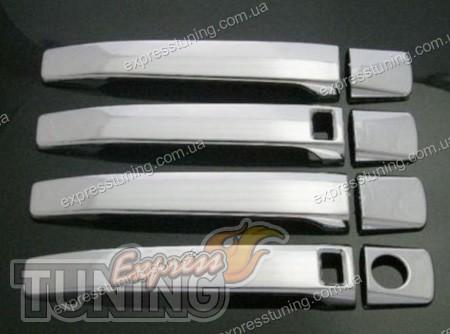 Хром накладки на ручки Мерседес W140 - Купить хром ...