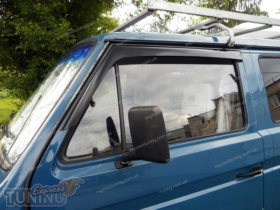 Дефлекторы на окна фольксваген транспортер на ленте транспортера лежит груз изобразите силы действующие на него