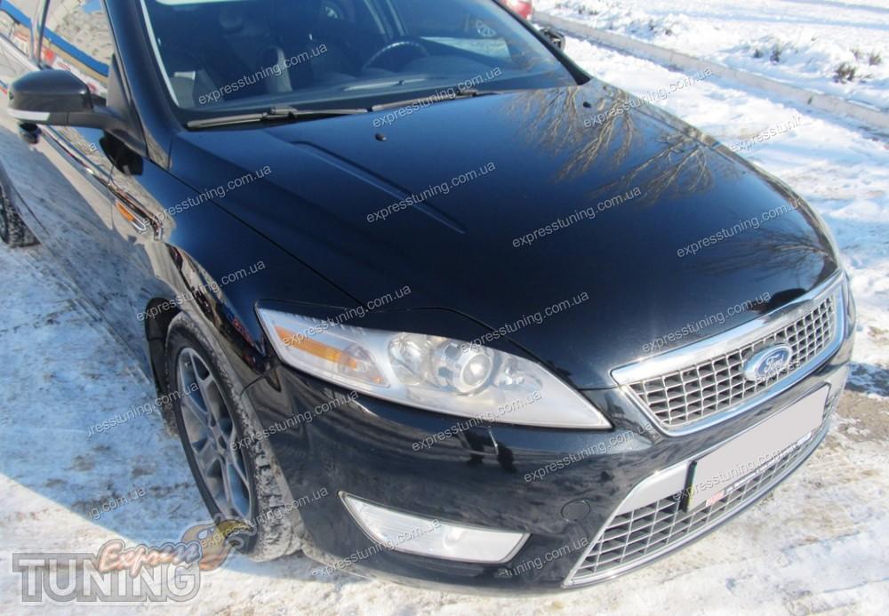 Покраска капота форд мондео универсал Замена плат задних фонарей mazda 6