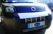 Хром накладки решетки радиатора Fiat Fiorino