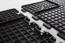 Комплект резиновых ковров салона Toyota Auris 1