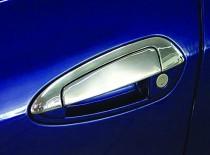 Хром накладки на ручки Fiat Grande Punto с верхней частью