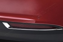 Хром окантовка задних рефлекторов Фиат Типо