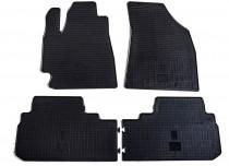 Резиновые коврики Тойота Хайлендер 2 (коврики в салон Toyota Highlander 2)