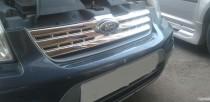 Хром накладки радиаторной решетки Форд Коннект с 2010 года