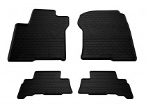 Резиновые коврики Toyota Prado 150 (коврики в салон Тойота Прадо 150)