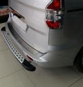 Защитная накладка заднего бампера Ford Courier 2