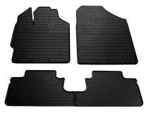 Резиновые коврики Тойота Ярис 2 (коврики в салон Toyota Yaris 2)