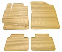Stingray Бежевые коврики в салон Тойота Камри 50 комплект 4шт