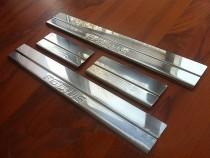 Защитные накладки на пороги Ford Focus 3 метал