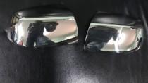 Хром накладки на зеркала Форд Фиеста 5