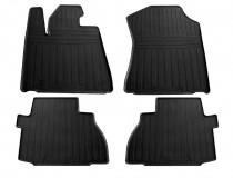 Резиновые коврики Toyota Sequoia 2 стиль премиум