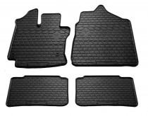 Резиновые коврики Toyota Yaris 1 дизайн премиум