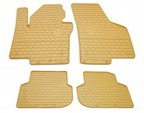 Бежевые коврики для Volkswagen Jetta 6 поколения