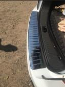 Защитная накладка на задний бампер Форд Куга 1