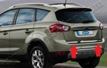 Хромированная кромка багажника Форд Куга 1