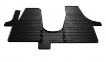 Резиновые коврики Фольксваген Транспортер Т6 для комплектаций 1+2