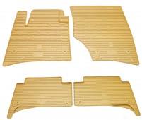 Бежевые коврики для Volkswagen Touareg 1 стиль премиум