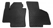 Черный коврики в салон Volkswagen Passat B7 полный комплект