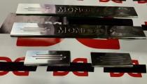 Защитные накладки порогов для Форд Мондео 3