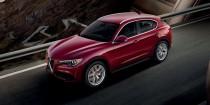 Рейлинги Alfa Romeo Stelvio OEM комплект 2шт